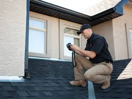 Home inspector on Roof - Homes for Sale in Calgary