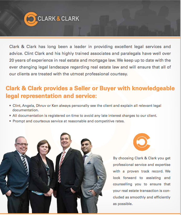 Clark and Clark Legal fees Page 1